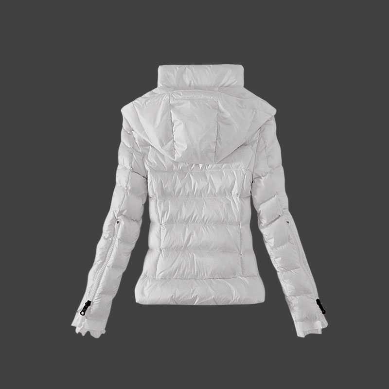 50e6d3c4 moncler mode fritid kvinder dunjakker hvid – Billige Moncler jakker ...