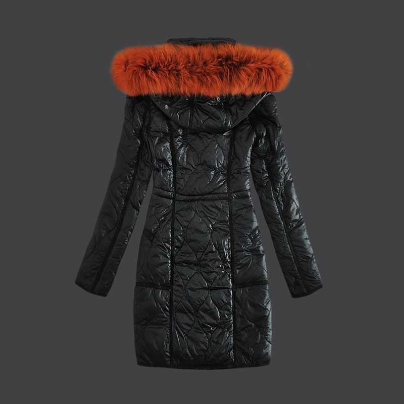 f10af9c9719 Moncler Mode Femme Bas Manteaux Coupe-Vent Noir – Moncler Vestes Et ...