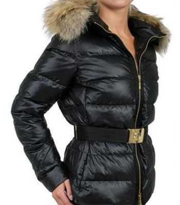 Moncler Angers Damen Jacken Dekorative Gürtel Kapuzen