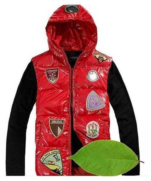 8efd1a549f73 Moncler Discount Down Vest For Men Multiple Logo Red – Cheap Moncler ...