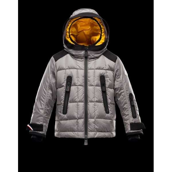 0342acb5a0d6 Moncler Jackets Kids Lizener Grey – Cheap Moncler jackets   Coats ...