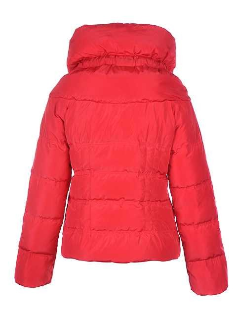 ebf6b1f5a6af Moncler Mengs Classic Women Down Jackets Round Neck Red – Cheap ...