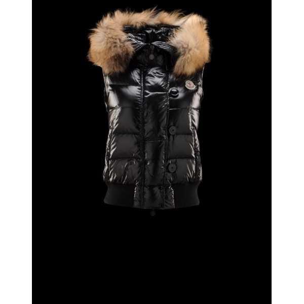 dd4a42309d85 Moncler Women Vest TARN Black – Cheap Moncler jackets   Coats Online ...